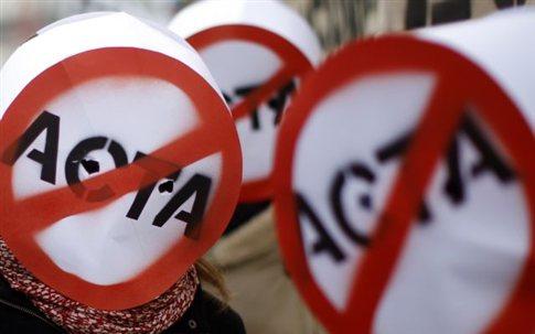 Διαμαρτυρίες για την ACTA το Σάββατο και στην Ελλάδα