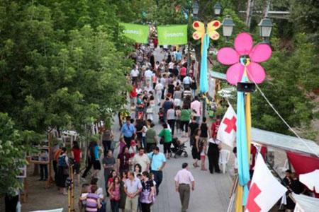 Λάρισα: Πλήθος κόσμου στο Φεστιβάλ Πηνειού