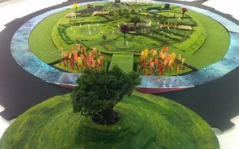 Σε «βρετανική εξοχή» θα μεταμορφωθεί το στάδιο για τους Ολυμπιακούς του Λονδίνου