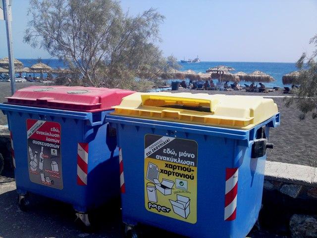 Ανακύκλωση γυαλιού στη Σκόπελο