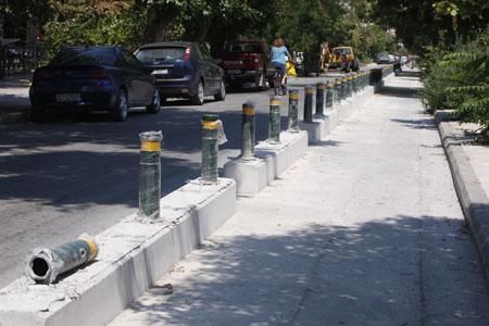 Διαβούλευση   για  τους   ποδηλατοδρόμους