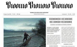 Ελβετική εφημερίδα τύπωσε φύλλο της σε δυαδικό κώδικα