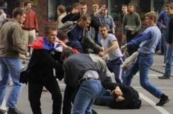 Επεισόδια στη Βαρσοβία ανάμεσα σε Πολωνούς και Ρώσους χούλιγκαν