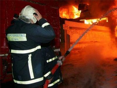 Αρκαδία: Μια νεκρή από πυρκαγιά σε οικία