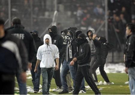 Σύλληψη 34 οπαδών του ΠΑΟΚ, αναζητούνται άλλοι 57