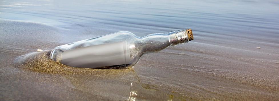 Σκιάθος: Ενα μπουκάλι σε ρόλο... SMS