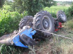 Λάρισα: Νεκρός 43χρονος στον Πυργετό από ανατροπή τρακτέρ