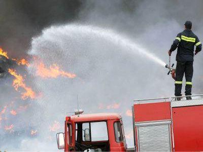 Φωτιά και στην Κύθνο - Μόνο ένας πυροσβέστης στο νησί