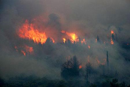 Στον εισαγγελέα οι 5 συλληφθέντες για τις φωτιές σε Κερατέα, Μαραθώνα