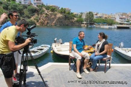 Εκπομπή αφιερωμένη στην Κρήτη από το CNN TURK