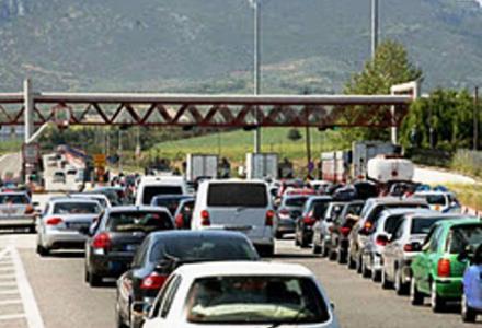 Τρίκαλα: Δεκαήμερη διακοπή κυκλοφορίας στην Εγνατία οδό στο Μαλακάσι