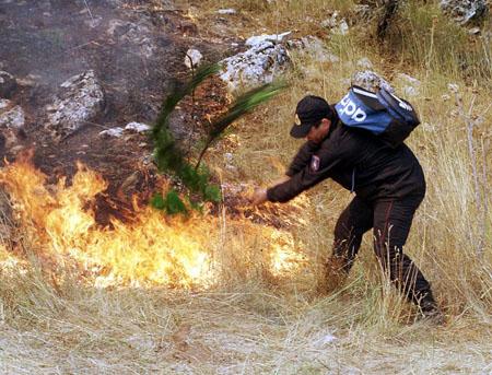 Φωτιά στον Ασπρόπυργο Αττικής
