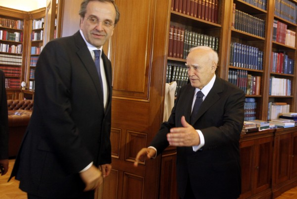 Ορκίζεται πρωθυπουργός ο Α.Σαμαράς