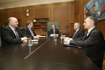 Ολοκληρώθηκε η συνεδρίαση των κομματικών αρχηγών ενόψει του Eurogroup