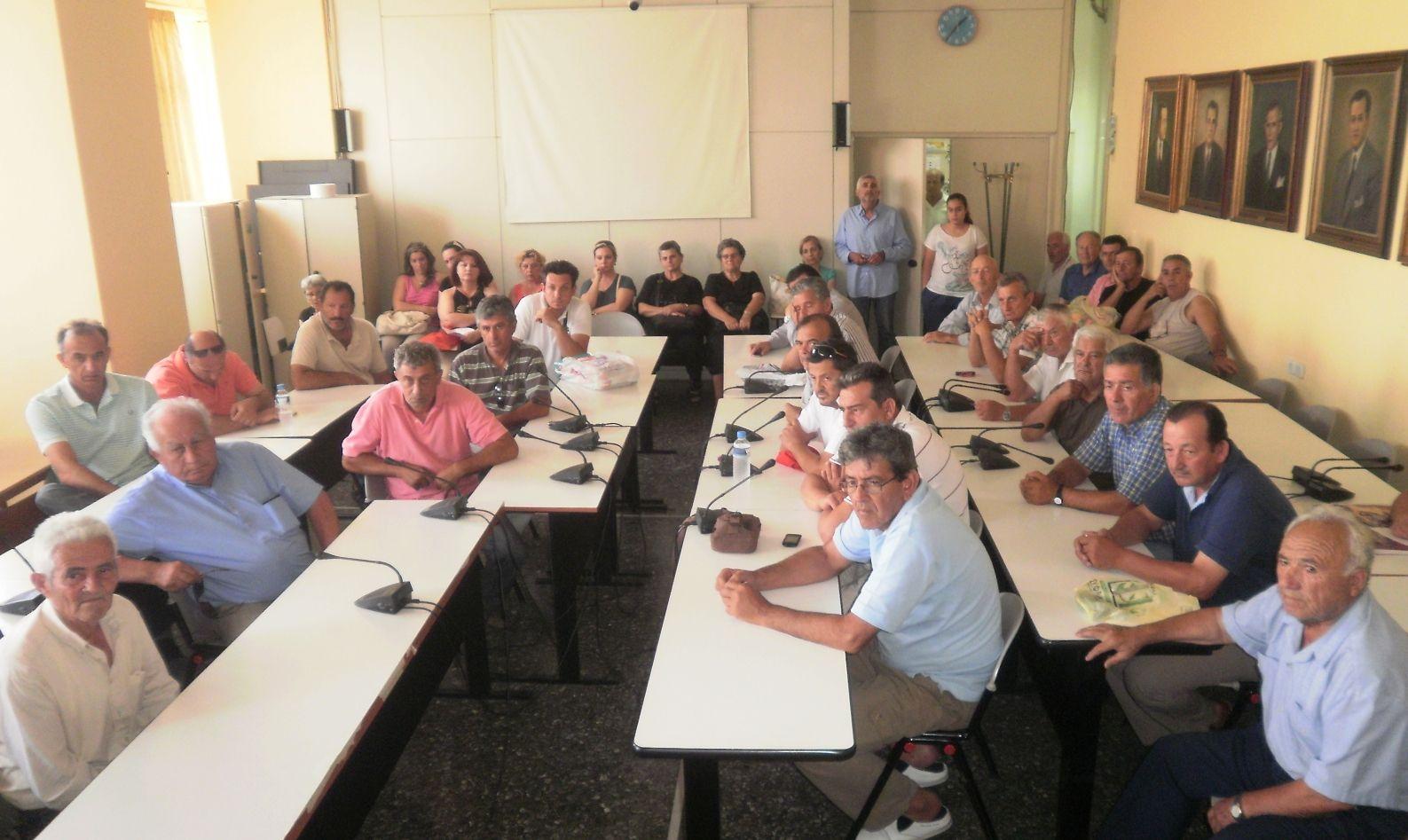 Καρδίτσα: Συνάντηση αιρετών με θιγόμενους κατοίκους Αρτεσιανού