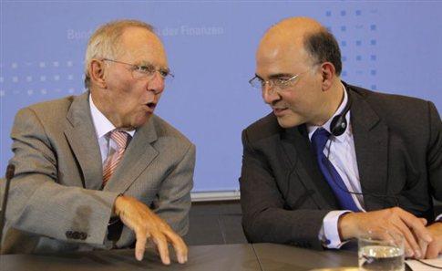 Συνάντηση των υπουργών Οικονομικών Γαλλίας, Γερμανίας, Ιταλίας και Ισπανίας στο Παρίσι