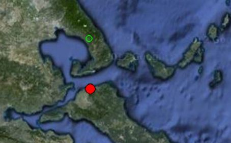 Σεισμός 4.6 ρίχτερ στην Ιστιαία αισθητός και στο Βόλο