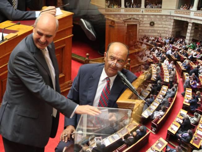 Νέος πρόεδρος της Βουλής ο Ευ. Μεϊμαράκης