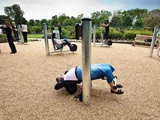 Παιδική χαρά για....συνταξιούχους