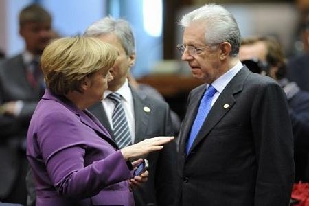 Ρώμη: Ολοκληρώθηκε η συνάντηση Μόντι-Μέρκελ