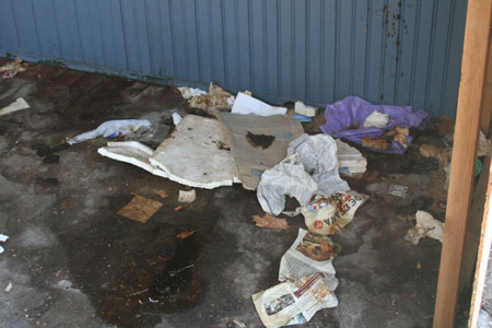 Εικόνες ντροπής λίγα μέτρα από το Δημαρχείο του Βόλου