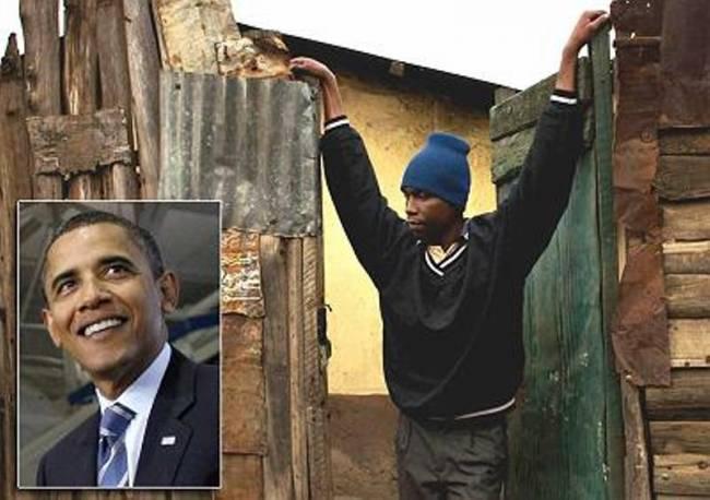 Σε παραγκούπολη ζει ο αδερφός του Μπαράκ Ομπάμα!