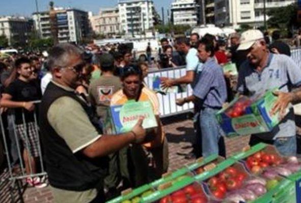 Λάρισα: Δωρεάν φρούτα από τους Ενεργούς Πολίτες