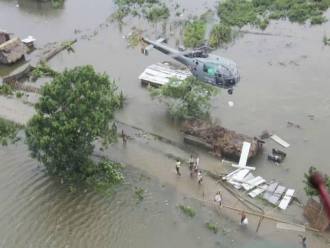 Ινδία: 109 νεκροί από τις πλημμύρες
