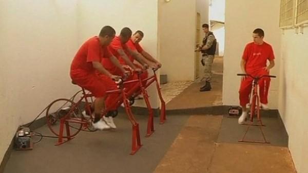 Κρατούμενοι μειώνουν την ποινή τους κάνοντας ποδήλατο