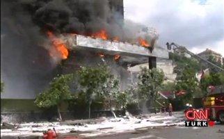 Πυρκαγιά σε ουρανοξύστη στην Κωνσταντινούπολη