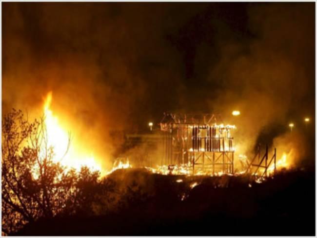 Ιταλία: Πυρκαγιά κατέστρεψε το ιστορικό στούντιο της Τσινετσιτά