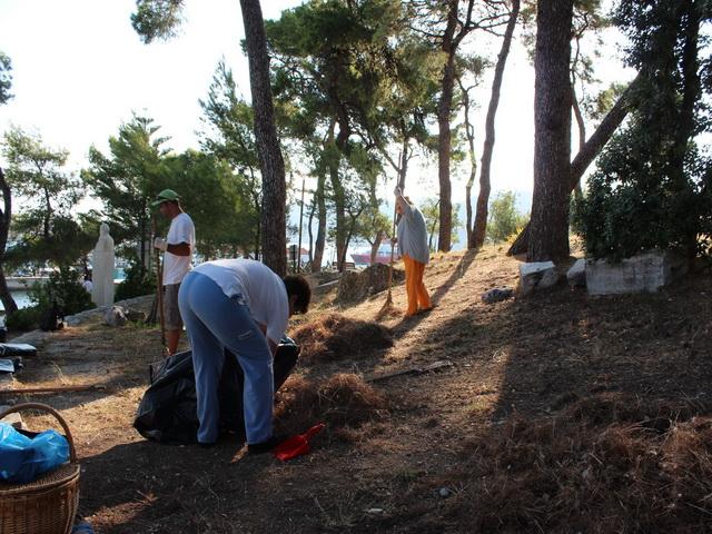 Εθελοντές καθάρισαν το Μπούρτζι