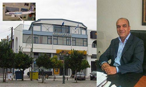 Αντιπροσωπεία της Hellas Airlines επισκέφθηκε το Δ. Αλμυρού
