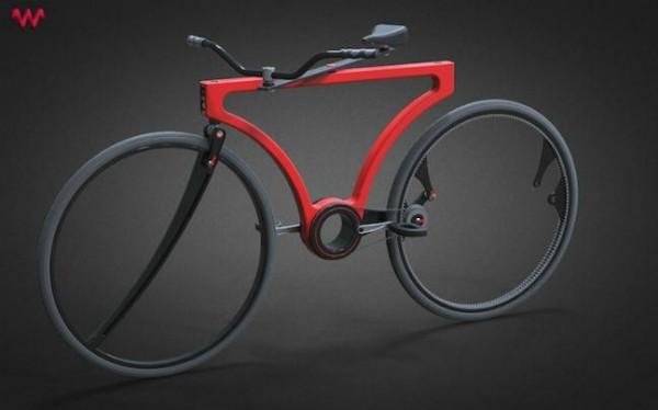Twist Bike: το ποδήλατο που δεν έχει ακτίνες