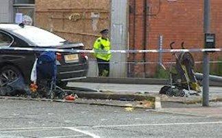 Αυτοκίνητο καρφώθηκε σε καρότσια, σκοτώνοντας δύο παιδιά