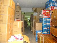 Εντοπίσθηκε αποθήκη με μεγάλο αριθμό παραποιημένων προϊόντων