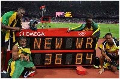 4Χ100 ανδρών: Έσπασε τα... χρονόμετρα η Τζαμάικα, χρυσό με παγκόσμιο ρεκόρ στα 36.84