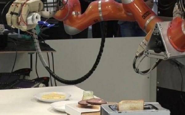 James και Rosie: τα ρομπότ που σας μαγειρεύουν
