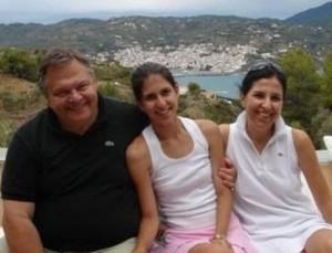 Oι διακοπές του Βενιζέλου στη Σκόπελο [φωτο]