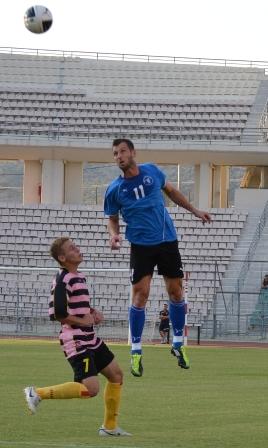 Ισόπαλη  1-1   στην Καρδίτσα