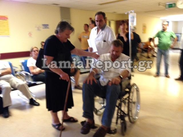 Στο νοσοκομείο εσπευσμένα ο Απ. Γκλέτσος