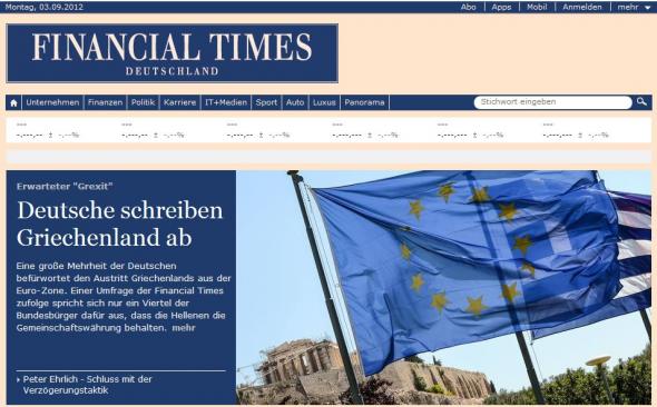 """""""Οι Γερμανοί διαγράφουν την Ελλάδα"""""""