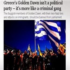 Guardian: Η Χρυσή Αυγή θυμίζει εγκληματική οργάνωση παρά κόμμα