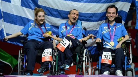 Xρυσό μετάλλιο η Ελλάδα στο μπότσια, «χάλκινος» ο Μάμαλος
