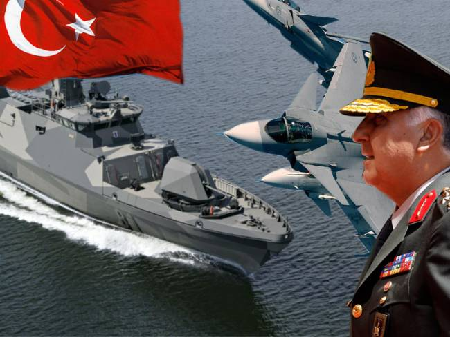 Επικίνδυνα πολεμικά «παιχνίδια» των Τούρκων στο Αιγαίο