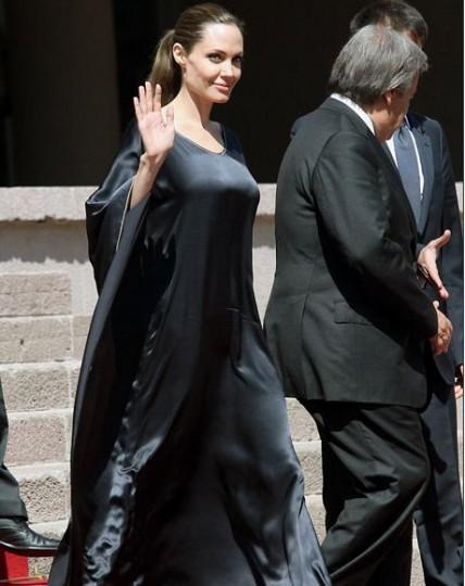 Η Jolie στην Τουρκία