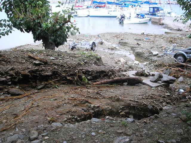 Ζημιές λόγω βροχόπτωσης