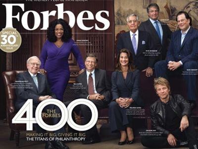 Έξι ομογενείς δισεκατομμυριούχοι στη λίστα του «Forbes»