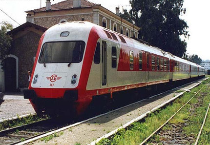 Προχωράει η ηλεκτροκίνηση Στη σιδηροδρομική γραμμή Βόλου - Λάρισας