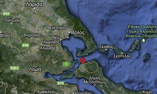 Σεισμός 4,1 βαθμών πριν από λίγο